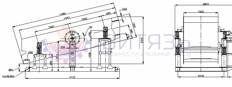 Грохот гил-42 технические характеристики купить бу ксд 2200