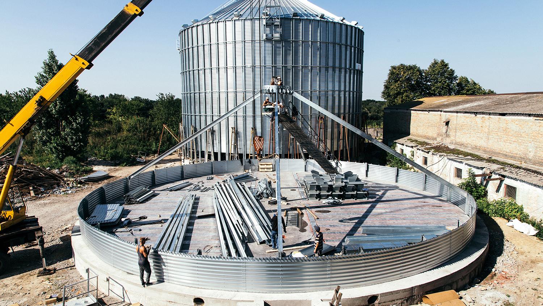 Стоимость строительства элеватора схема рольганга приводного